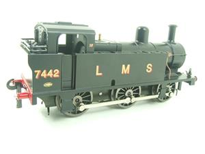 Darstaed O Gauge LMS Unlined Black Post War Class 3F Jinty Tank Loco R/N 7442 Bxd Electric 3 Rail image 6