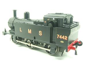 Darstaed O Gauge LMS Unlined Black Post War Class 3F Jinty Tank Loco R/N 7442 Bxd Electric 3 Rail image 8