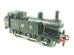 Darstaed O Gauge LMS Unlined Black Post War Class 3F Jinty Tank Loco R/N 7442 Bxd Electric 3 Rail image 9