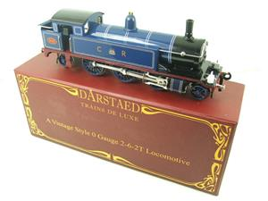 "Darstaed O Gauge CR ""Caledonian Railway"" Blue 2-6-2 Tank Loco R/N 950 Electric 3 Rail Boxed image 2"
