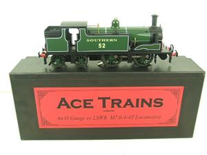 Ace Trains O Gauge E24B Southern Maunsell Green M7 Tank Loco 0-4-4 R/N 52 Electric 2/3 Rail Boxed image 1