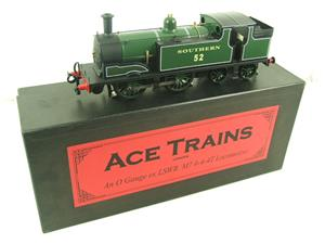 Ace Trains O Gauge E24B Southern Maunsell Green M7 Tank Loco 0-4-4 R/N 52 Electric 2/3 Rail Boxed image 2
