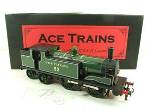 Ace Trains O Gauge E24B Southern Maunsell Green M7 Tank Loco 0-4-4 R/N 52 Electric 2/3 Rail Boxed image 3