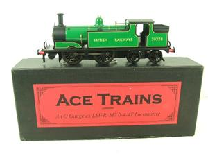 Ace Trains O Gauge E24E M7 Class British Railways Malachite Green Tank Loco R/N 30328 Elec 2/3 Rail image 1