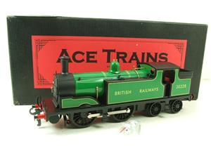 Ace Trains O Gauge E24E M7 Class British Railways Malachite Green Tank Loco R/N 30328 Elec 2/3 Rail image 3
