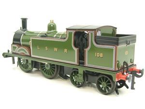 Ace Trains O Gauge E24A M7 Class LSWR Green Tank Loco 0-4-4 R/N 108 Electric 2/3 Rail Boxed image 6