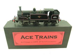 Ace Trains O Gauge E24H Post 56 BR Gloss Black M7 Tank Loco R/N 30021 Electric 2/3 Rail Bxd image 1