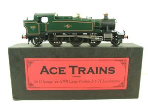 Ace Trains O Gauge E29G BR Gloss Green 2-6-2 Prairie Tank Loco R/N 4160 Electric 2/3 Rail Bxd image 1