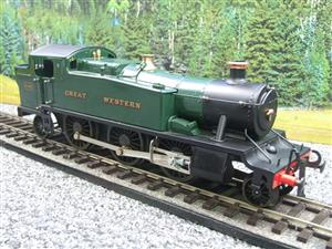 "Ace Trains O Gauge E29A GW ""Great Western"" Green 2-6-2 Prairie Tank Loco R/N 5164 Electric 2/3 Rail image 2"