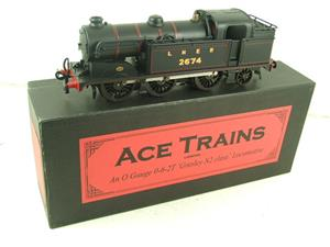 Ace Trains O Gauge E11 LNER Satin Black N2 Class 0-6-2 Tank Loco R/N 2674 Electric 2/3 Rail Boxed image 2