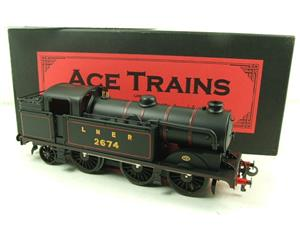 Ace Trains O Gauge E11 LNER Satin Black N2 Class 0-6-2 Tank Loco R/N 2674 Electric 2/3 Rail Boxed image 3