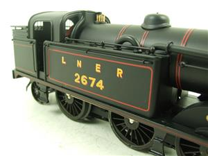 Ace Trains O Gauge E11 LNER Satin Black N2 Class 0-6-2 Tank Loco R/N 2674 Electric 2/3 Rail Boxed image 5