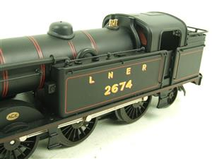 Ace Trains O Gauge E11 LNER Satin Black N2 Class 0-6-2 Tank Loco R/N 2674 Electric 2/3 Rail Boxed image 6