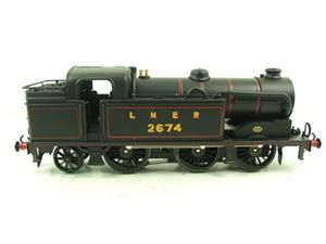 Ace Trains O Gauge E11 LNER Satin Black N2 Class 0-6-2 Tank Loco R/N 2674 Electric 2/3 Rail Boxed image 7
