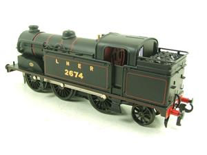Ace Trains O Gauge E11 LNER Satin Black N2 Class 0-6-2 Tank Loco R/N 2674 Electric 2/3 Rail Boxed image 8
