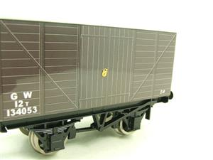 "Ace Trains O Gauge G2 Private Owned Tinplate ""GW"" Goods Van R/N 134053 image 4"