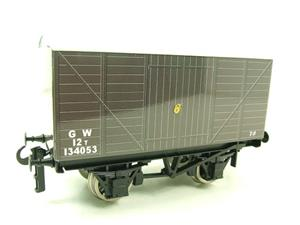 "Ace Trains O Gauge G2 Private Owned Tinplate ""GW"" Goods Van R/N 134053 image 6"