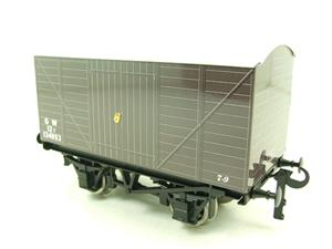 "Ace Trains O Gauge G2 Private Owned Tinplate ""GW"" Goods Van R/N 134053 image 8"