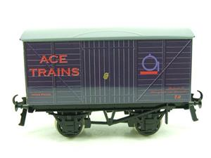 "Ace Trains O Gauge Private Owned ""Ace Trains"" Goods Van Tinplate image 1"