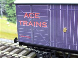 "Ace Trains O Gauge Private Owned ""Ace Trains"" Goods Van Tinplate image 3"