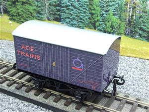 "Ace Trains O Gauge Private Owned ""Ace Trains"" Goods Van Tinplate image 8"