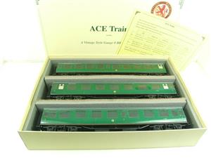 Ace Trains O Gauge C13 BR MK1 SR Southern Green Coaches x3 Set A Boxed 2/3 Rail image 1