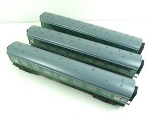 Ace Trains O Gauge C13 BR MK1 SR Southern Green Coaches x3 Set A Boxed 2/3 Rail image 9