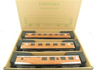 Darstaed O Gauge LNER Thompson Corridor Coaches x3 Set 2/3 Rail Boxed Set A image 1