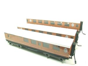 Darstaed O Gauge LNER Thompson Corridor Coaches x3 Set 2/3 Rail Boxed Set A image 2