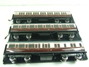 Darstaed O Gauge GWR Corridor Coaches x3 Set 2/3 Rail Bxd Set A image 8