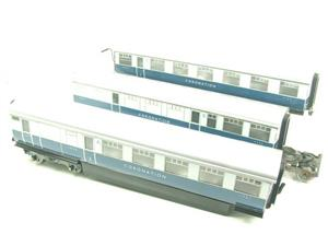 "Ace Trains O Gauge C7 LNER ""Record Breaking Set"" Articulated x6 Coaches Coronation Set 3 Rail image 2"