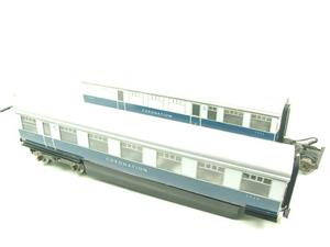 "Ace Trains O Gauge C7 LNER ""Record Breaking Set"" Articulated x6 Coaches Coronation Set 3 Rail image 4"