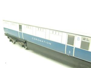 "Ace Trains O Gauge C7 LNER ""Record Breaking Set"" Articulated x6 Coaches Coronation Set 3 Rail image 6"