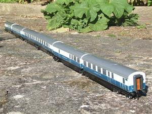 "Ace Trains O Gauge C7 LNER ""Record Breaking Set"" Articulated x6 Coaches Coronation Set 3 Rail image 8"