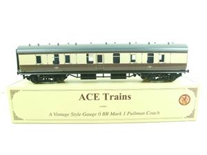 Ace Trains O Gauge C14 BR Mark 1 Full Brake Pullman Coach 3 Rail Boxed image 1