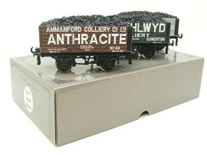 "Ace Trains O Gauge G/5 WS1 Private Owner ""South Wales"" Coal Wagons x3 Set 1 Bxd image 10"