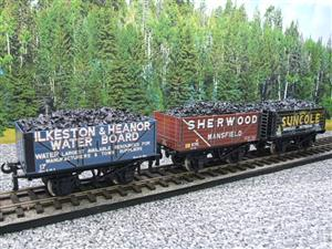 "Ace Trains O Gauge G/5 WS2 Private Owner ""Midlands"" Coal Wagons x3 Set 2 Bxd image 3"