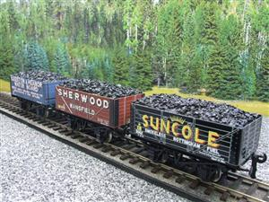 "Ace Trains O Gauge G/5 WS2 Private Owner ""Midlands"" Coal Wagons x3 Set 2 Bxd image 8"