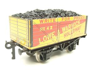 "Ace Trains O Gauge G/5 WS3 Private Owner ""London"" Coal Wagons x3 Set 3 Bxd image 5"
