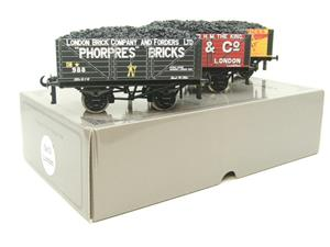 "Ace Trains O Gauge G/5 WS3 Private Owner ""London"" Coal Wagons x3 Set 3 Bxd image 7"