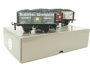 "Ace Trains O Gauge G/5 WS4 Private Owner ""North West"" Coal Wagons x3 Set 4 Bxd image 3"