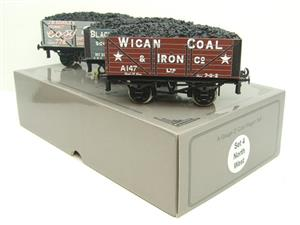 "Ace Trains O Gauge G/5 WS4 Private Owner ""North West"" Coal Wagons x3 Set 4 Bxd image 7"