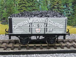 "Ace Trains O Gauge G/5 WS ""Cambrian Mercantile Collieries"" No.114 Coal Wagon 2/3 Rail image 5"