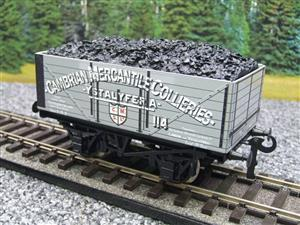 "Ace Trains O Gauge G/5 WS ""Cambrian Mercantile Collieries"" No.114 Coal Wagon 2/3 Rail image 7"