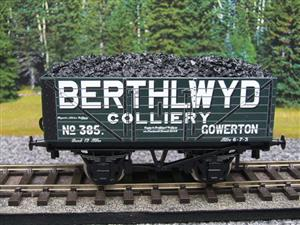 "Ace Trains O Gauge G/5 WS ""Berthlwyd"" No.385 Coal Wagon 2/3 Rail image 1"