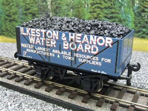 "Ace Trains O Gauge G/5-WS Private Owner ""Ilkeston & Heanor"" No17 Coal Wagon 2/3 Rail image 3"