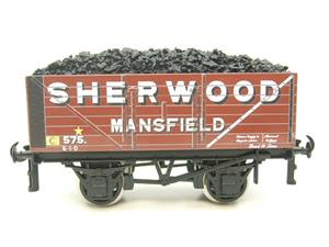 "Ace Trains O Gauge G/5-WS Private Owner ""Sherwood Mansfield"" No.575 Coal Wagon 2/3 Rail image 1"