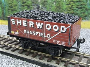 "Ace Trains O Gauge G/5-WS Private Owner ""Sherwood Mansfield"" No.575 Coal Wagon 2/3 Rail image 2"
