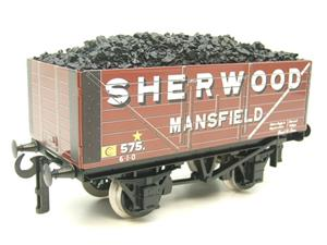 "Ace Trains O Gauge G/5-WS Private Owner ""Sherwood Mansfield"" No.575 Coal Wagon 2/3 Rail image 3"