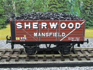 "Ace Trains O Gauge G/5-WS Private Owner ""Sherwood Mansfield"" No.575 Coal Wagon 2/3 Rail image 5"